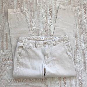 Gap Cotton Blend Slim Pants 33 x 30